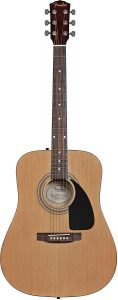 fender fa-100 best value acoustic guitar