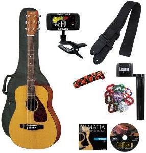 Yamaha JR1 starter acoustic guitar bundle kit