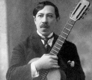 Agustín Barrios - famous classical guitar player